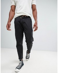 ONLY & SONS Trouser In Cropped Tapered Fit With Drawstring Waist