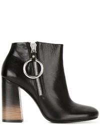 McQ by Alexander McQueen Mcq Alexander Mcqueen Degrad Heel Ankle Boots