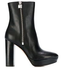 MICHAEL Michael Kors Michl Michl Kors Side Zip Ankle Boots