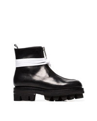 1017 Alyx 9Sm Tank 50 Leather Zip Up Ankle Boots