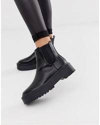 Public Desire Amerika Chunky Flat Chelsea Boots