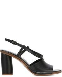 Roberto Del Carlo Chunky Heel Sandals