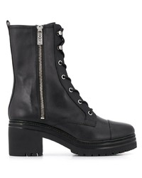 MICHAEL Michael Kors Michl Michl Kors Lace Up Leather Ankle Boots