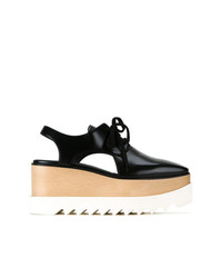 Stella McCartney Elyse Cut Out Platform Shoes