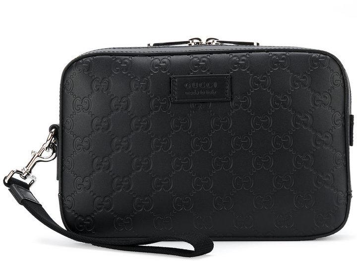 c4340c3f1e3 ... Gucci Gg Supreme Clutch Bag