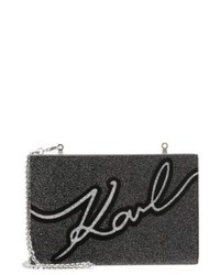 Signature clutch black medium 4122625