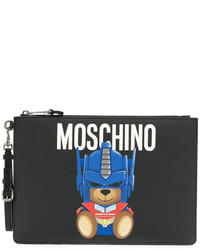 Moschino Transformer Bear Large Clutch
