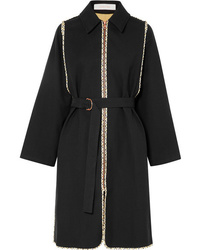 See by Chloe Belted Cotton Twill Coat