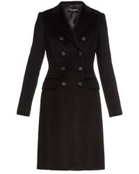 Dolce & Gabbana Button Front Cashmere Coat