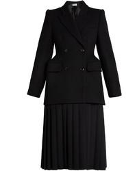 Balenciaga Cavalry Wool Twill Coat