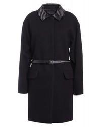Moschino Classic Coat Black