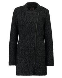 Anna Field Classic Coat Dark Grayblack