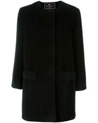 Etro Collarless Coat