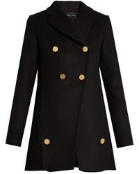Proenza Schouler Double Breasted Wool Blend Coat