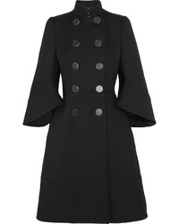 Alexander McQueen Double Breasted Wool Coat