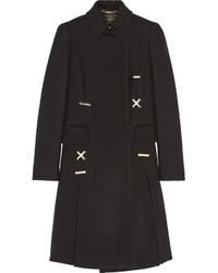 Versace Embellished Wool Coat