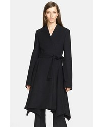 Stella McCartney Flore Wool Melton Coat