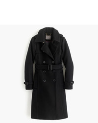 J.Crew Icon Trench Coat In Italian Wool Cashmere