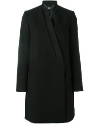 Stella McCartney Inverted Collar Melton Coat
