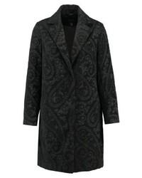 New Look Jacquard Classic Coat Black