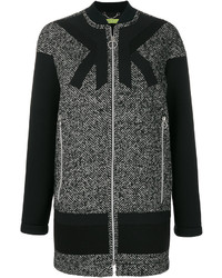 Versace Jeans Single Breasted Zipped Coat