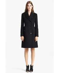 Burberry London Pleated Back Wool Cashmere Coat