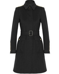 Burberry London Wool And Cashmere Blend Coat