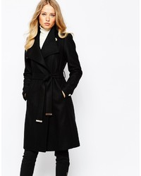 a37922ed61db Women's Black Coats by Ted Baker | Women's Fashion | Lookastic UK