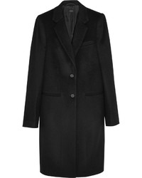 Joseph Man Wool And Cashmere Blend Coat Black