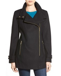 MICHAEL Michael Kors Michl Michl Kors Asymmetrical Wool Blend Coat