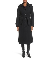 MICHAEL Michael Kors Michl Michl Kors Long Belted Wool Blend Coat