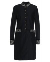 Ralph Lauren Military Classic Coat Black