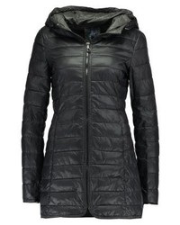 Only Onltahoe Hooded Short Coat Blackphantom
