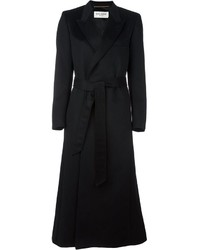 Saint Laurent Belted Long Coat