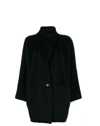 Versace Vintage Shawl Collar Coat