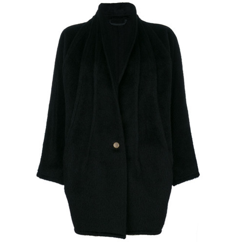 Versace Vintage Shawl Collar Coat
