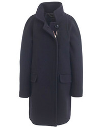 J.Crew Stadium Cloth Standing Collar Coat