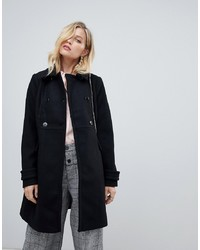 Oasis Tailored Coat In Black