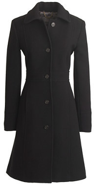 J Crew Tall Italian Double Cloth Wool Lady Day Coat With Thinsulate