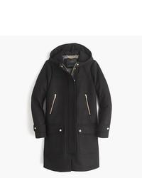 J.Crew Tall Wool Melton Duffle Coat