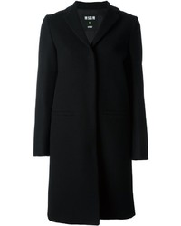 MSGM Welt Pockets Mid Length Coat