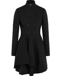 Alexander McQueen Wool Blend Scuba Coat