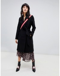Stradivarius Wool Car Coat