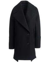 J.Crew Wool Melton Swing Coat
