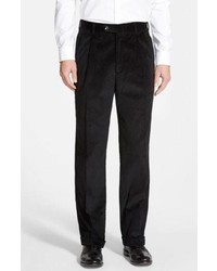 Black Corduroy Dress Pants