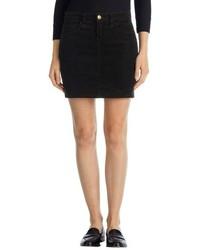 J Brand Gwynne Five Pocket Corduroy Miniskirt