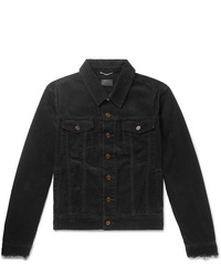 Black Corduroy Shirt Jacket