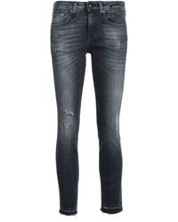R 13 R13 Skinny Cropped Jeans