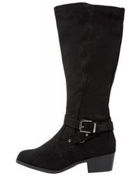 New Look Bruges Cowboybiker Boots Black