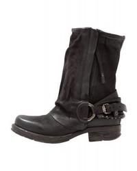 A.S.98 Cowboybiker Boots Nero